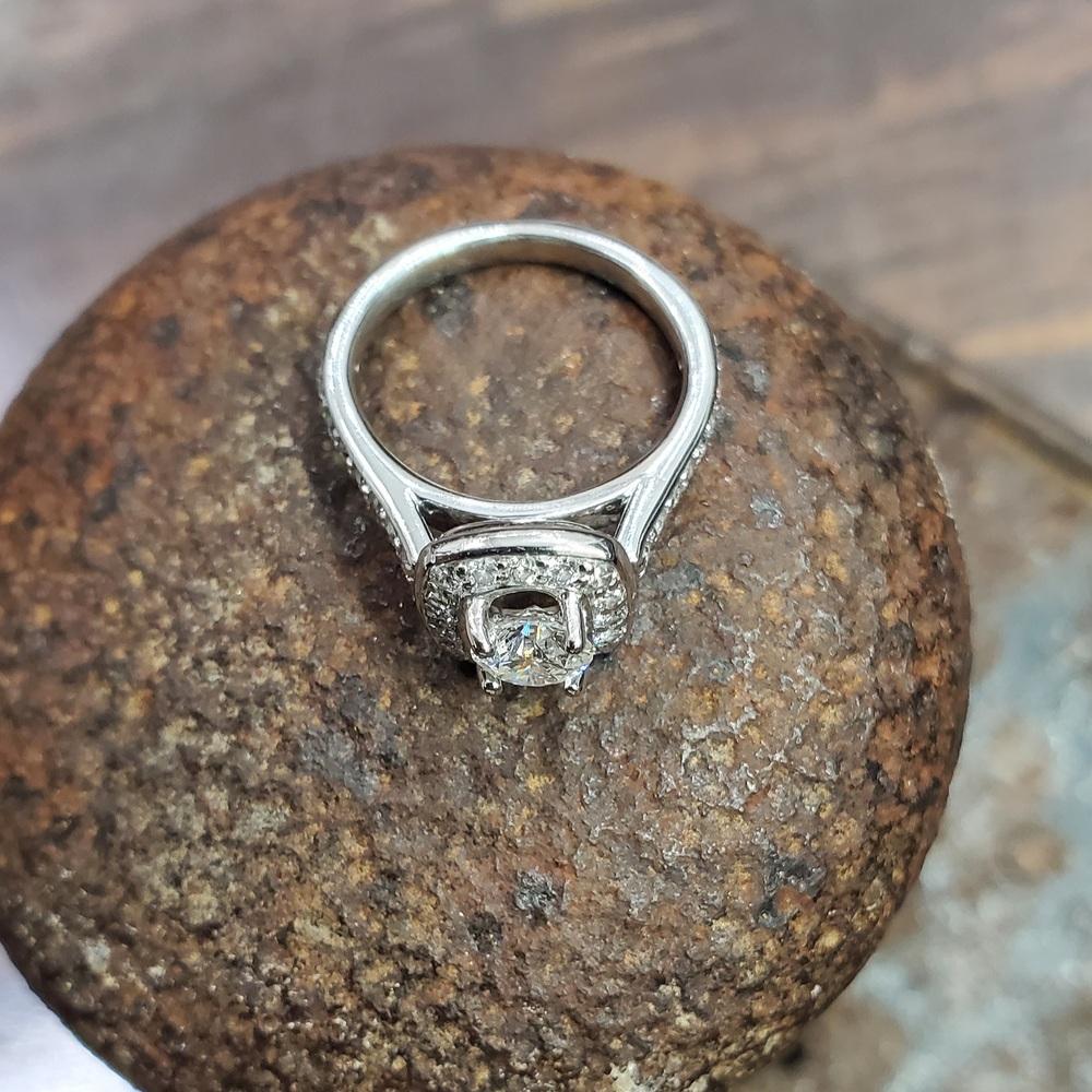 .90ctw Platinum Diamond Ring   Dynasty Jewelry and Loan